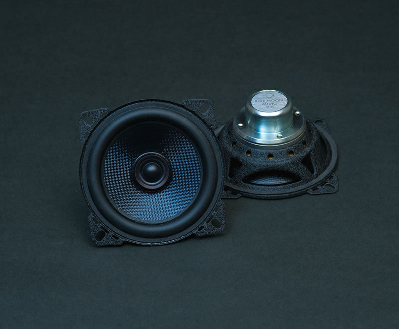 CX100 High Performance 4inch 2way coaxial speaker system