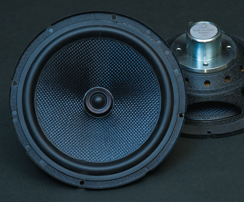 CX165 High Performance 6.5inch 2way coaxial speaker system